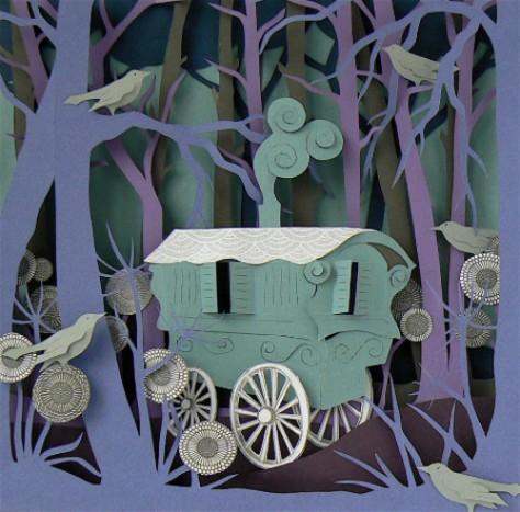 Helen Musselwhite: Romany Caravan