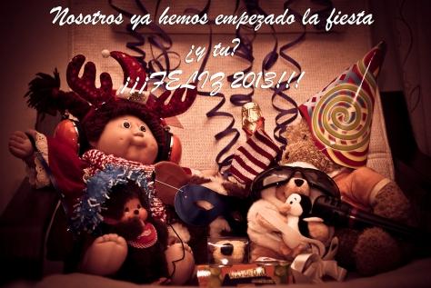 Feliz año nuevo, Happy new year, Boun capodanno