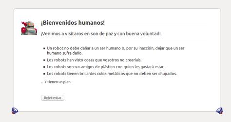 Bienvenidos Humanos