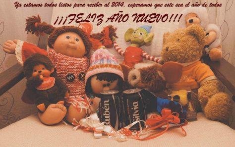 Feliz año nuevo 2014 a todos
