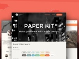 Tema Paper Kit de Creative Tim